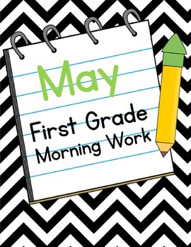 May First Grade Morning Work