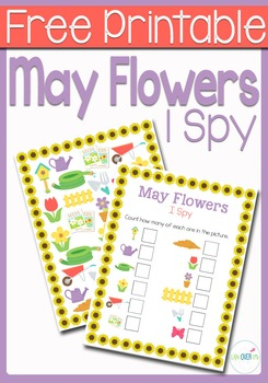 I Spy Counting: Flowers