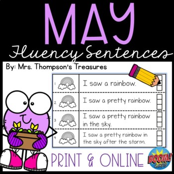 May Fluency Strips