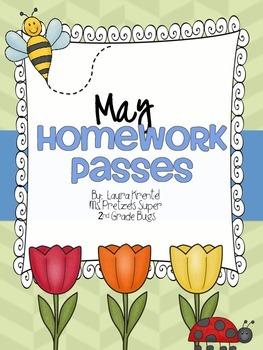 May Homework Passes