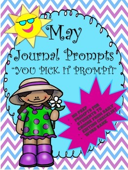 May Journal Booklet...YOU PICK IT...NO prep!!
