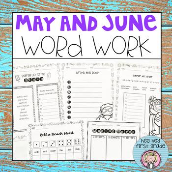 May / June Word Work