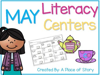 May Literacy Centers (8 Common Core Aligned Stations)