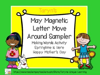 May Magnetic Letter Move Around