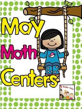 May Math Centers- Kindergarten