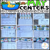 May Math and Literacy Centers