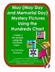 May (May Day and Memorial Day) Mystery Pictures Using the