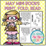 May Mini Books...Just print, fold, read!