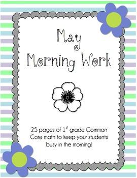 May Morning Work - CC Math Skills