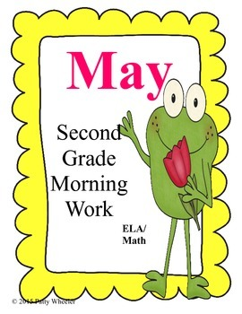 May Morning Work for Second Grade