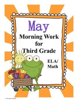 May Morning Work for Third Grade