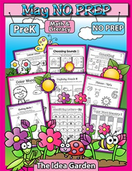 May NO PREP - Math & Literacy (Pre-K)