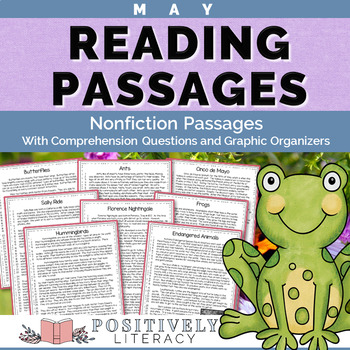 May Reading Passages - Nonfiction Text with Comprehension