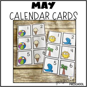 May (Spring) Calendar Pieces