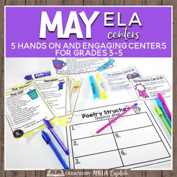 May Themed {ELA Centers}