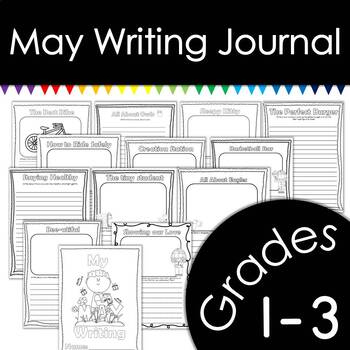 May Writing Journal with Prompts