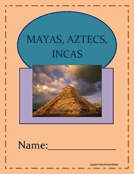 Maya, Aztec, Inca Unit for Core Knowledge