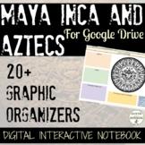 Maya Inca Aztecs 20+ Digital Interactive Notebook organize