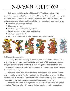Mayan Religion