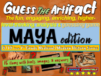 "Mayans ""Guess the artifact"" game: engaging PPT with pictur"