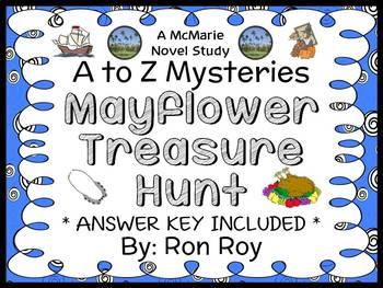 Mayflower Treasure Hunt : A to Z Mysteries (Ron Roy) Novel