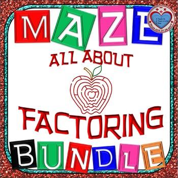 Maze - BUNDLE FACTORING {Growing Bundle} (13 Mazes)