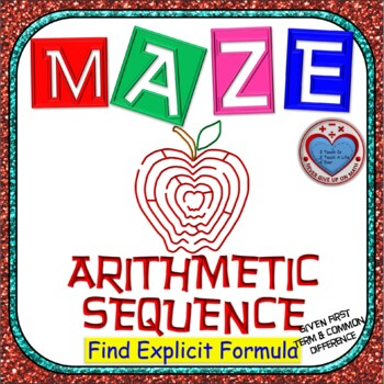 Maze - Find Explicit Formula of Arithmetic Sequence given a1 & d