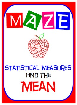 Maze - Find the Mean