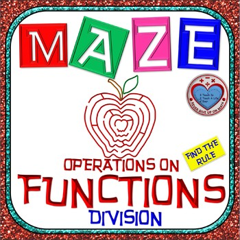 Maze - Functions - Dividing Functions (Find the Rule)