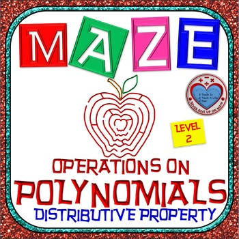 Maze - Operations on Polynomials - Distributive Property (