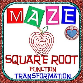 Maze - Radical Functions Transformation - Level 1