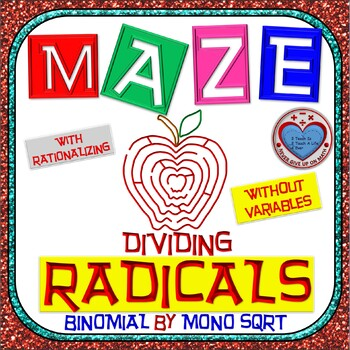 Maze - Radicals - Dividing (Binomial by Mono) - (With Rati
