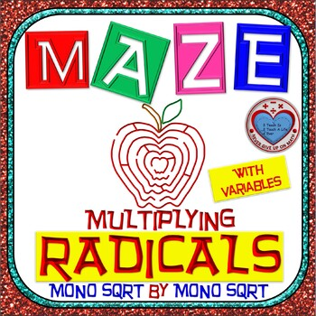 Maze - Radicals - Multiplying (Mono SQRT root by Mono SQRT