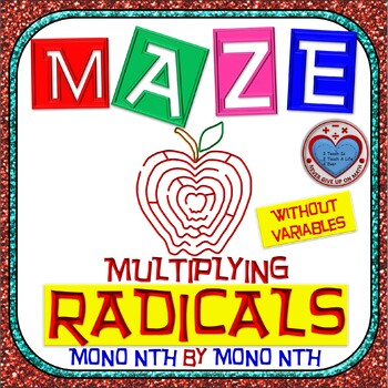 Maze - Radicals - Multiplying (Mono nth root by Mono nth r