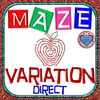 Maze - Rational Functions: Direct Variation - Find the mis