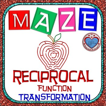 Maze - Rational Functions - Transformation of Reciprocal Function
