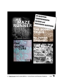 Maze Runner series -- Comprehension Quizzes and Discussion