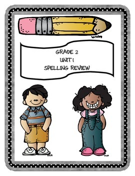 Mc Graw Hill WONDERS Grade 2 Unit 1 Spelling Review Sheets
