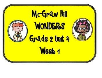 Mc Graw-Hill WONDERS Grade 2 Unit 4 Bulletin Board Set
