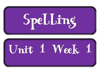 Mc Graw-Hill WONDERS Grade 3 All Units Spelling Cards