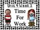 WONDERS Kindergarten Unit 4 Bulletin Board Set