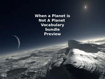 McGraw Hill Wonders 5th Grade When a Planet is not a Plane