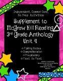 McGraw Hill  Wonders 3rd Gr. Anthology Unit 4 No Prep, Not