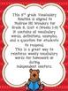 Wonders 5th Grade Vocabulary BUNDLE Unit 4