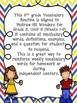 Wonders 5th Grade Vocabulary BUNDLE Unit 5