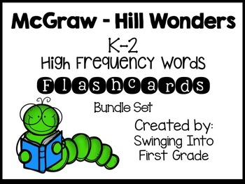 McGraw Hill K-2 High Frequency Word Flashcard Bundle