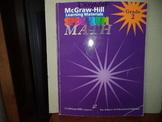 McGraw-Hill Learning Materials Spectrum MATH ISBN#1-57768-112-6