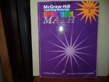 McGraw-Hill Learning Materials Spectrum MATH ISBN#1-57768-112-6