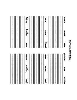 McGraw Hill Reading Wonders © 1st Grade Unit 6 Week 2 Worksheets