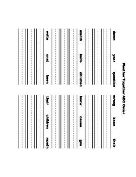 McGraw Hill Reading Wonders © 1st Grade Unit 6 Week 3 Worksheets